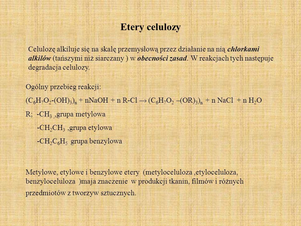 Etery celulozy