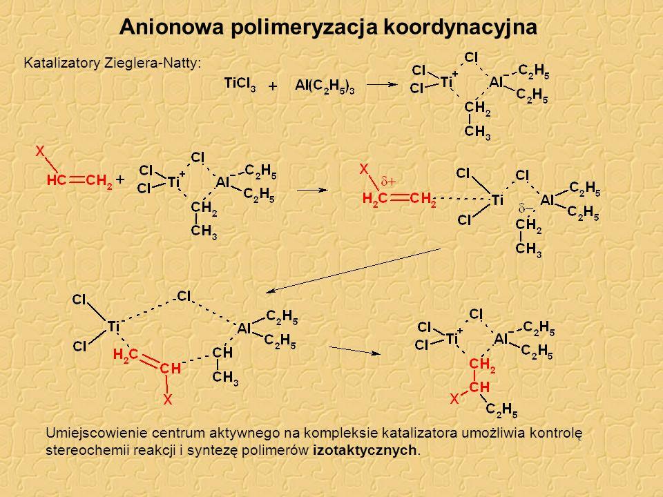 Anionowa polimeryzacja koordynacyjna