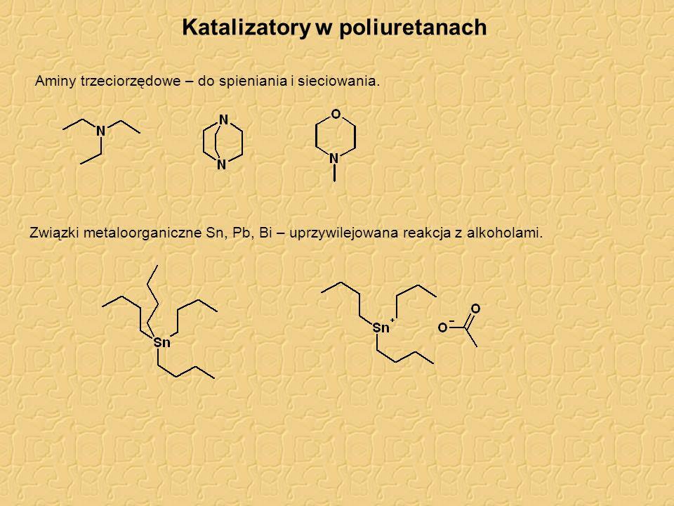 Katalizatory w poliuretanach