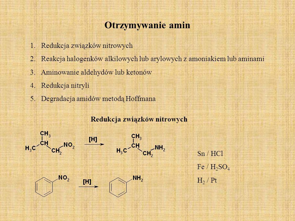 Redukcja związków nitrowych