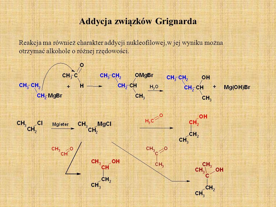 Addycja związków Grignarda