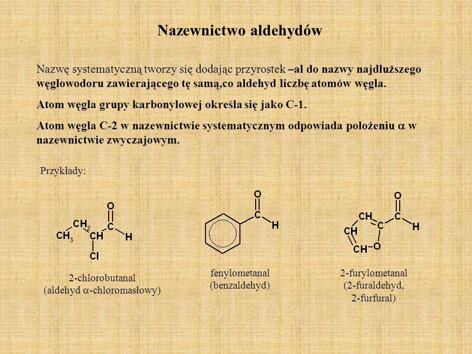 Nazewnictwo aldehydów