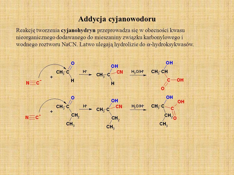 Addycja cyjanowodoru