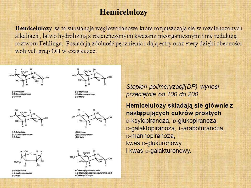 Hemicelulozy