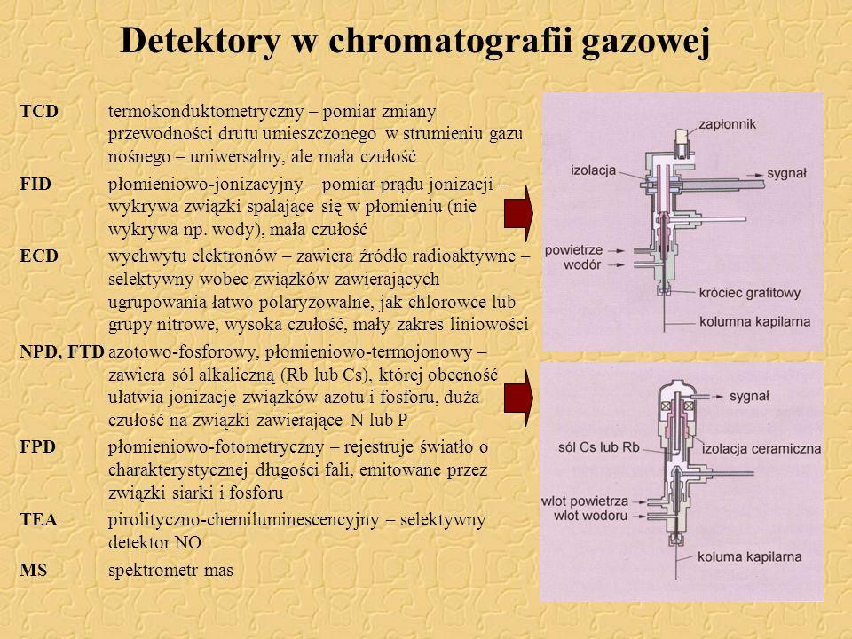 Detektory w chromatografii gazowej