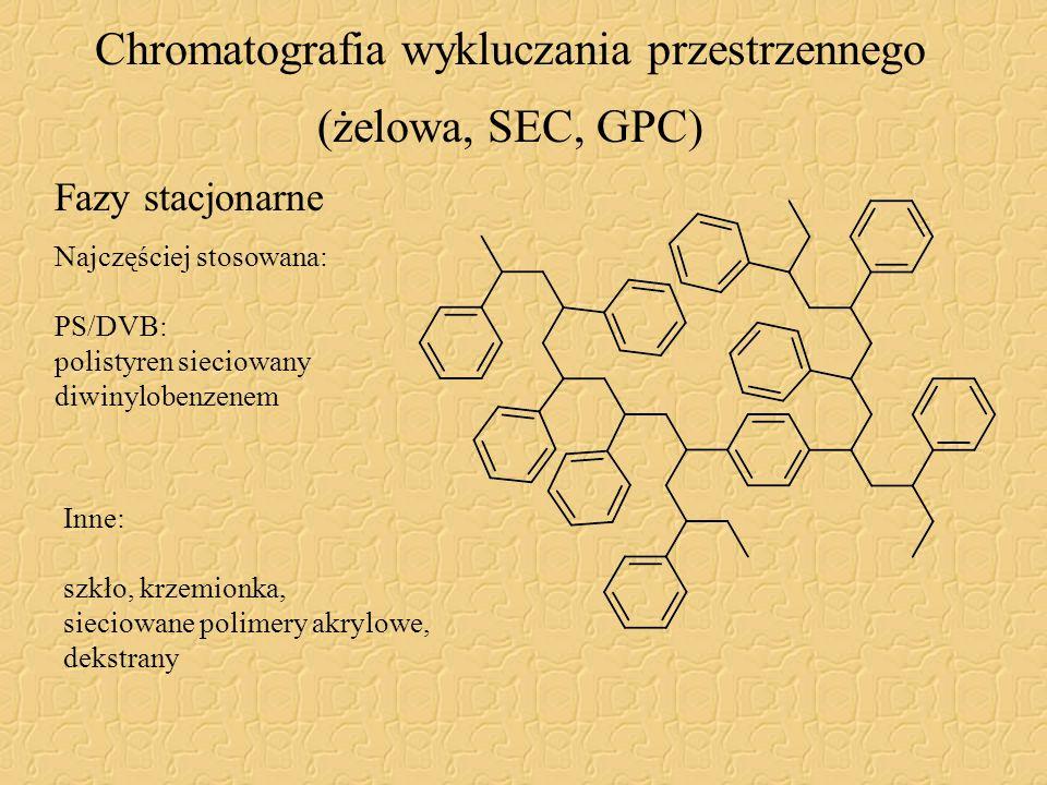 Chromatografia wykluczania przestrzennego (żelowa, SEC, GPC)