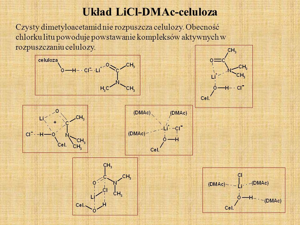 Układ LiCl-DMAc-celuloza