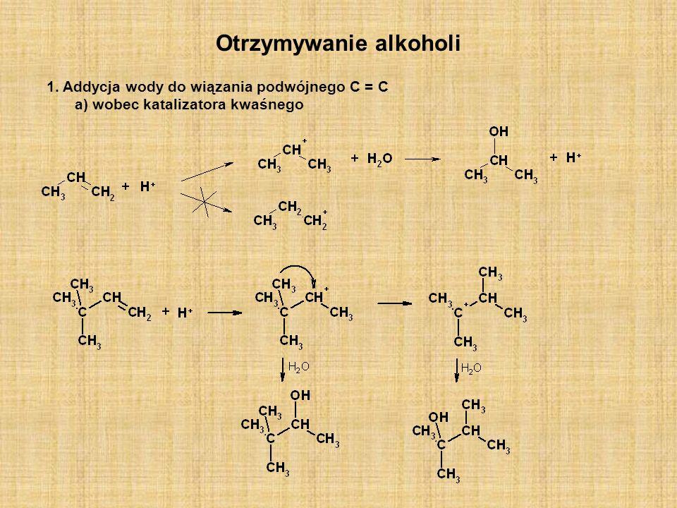Otrzymywanie alkoholi