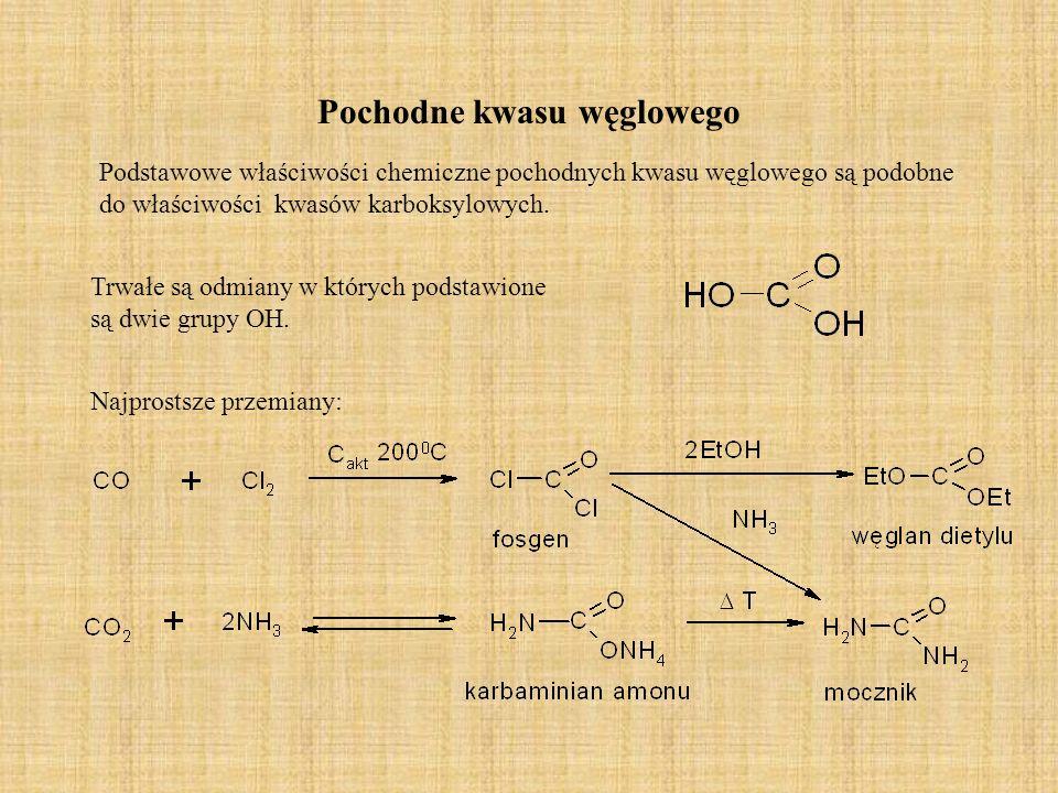 Pochodne kwasu węglowego