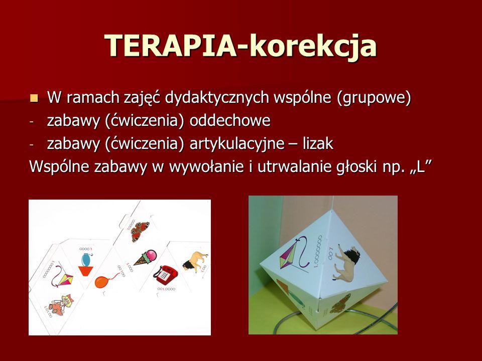 TERAPIA-korekcja W ramach zajęć dydaktycznych wspólne (grupowe)