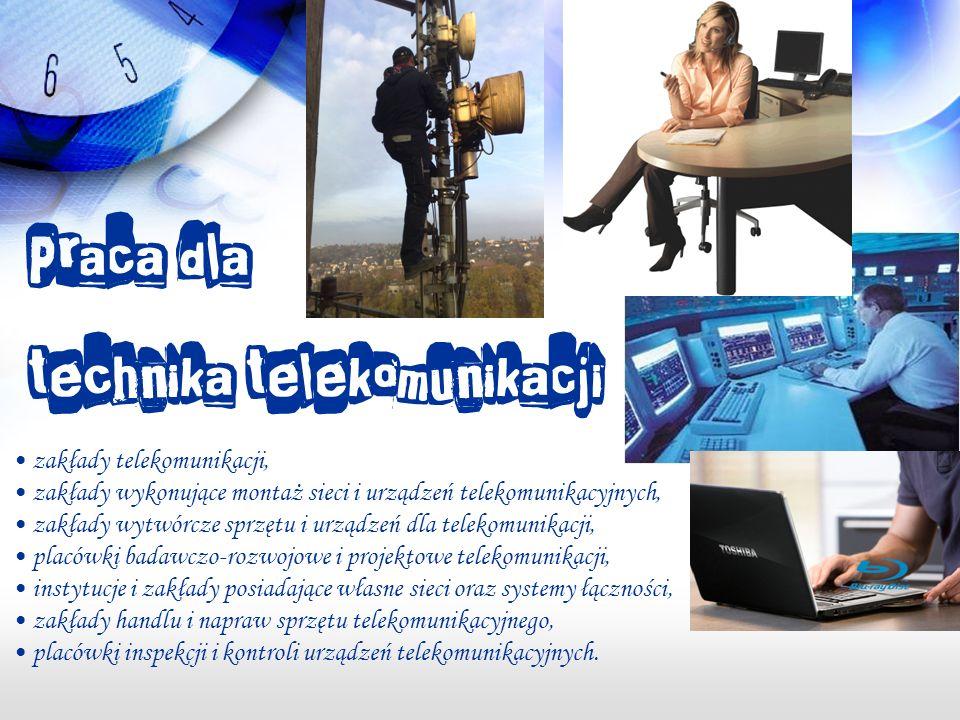 technika telekomunikacji