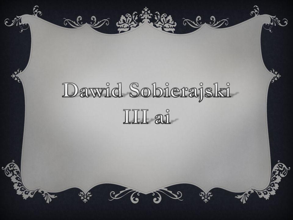 Dawid Sobierajski III ai