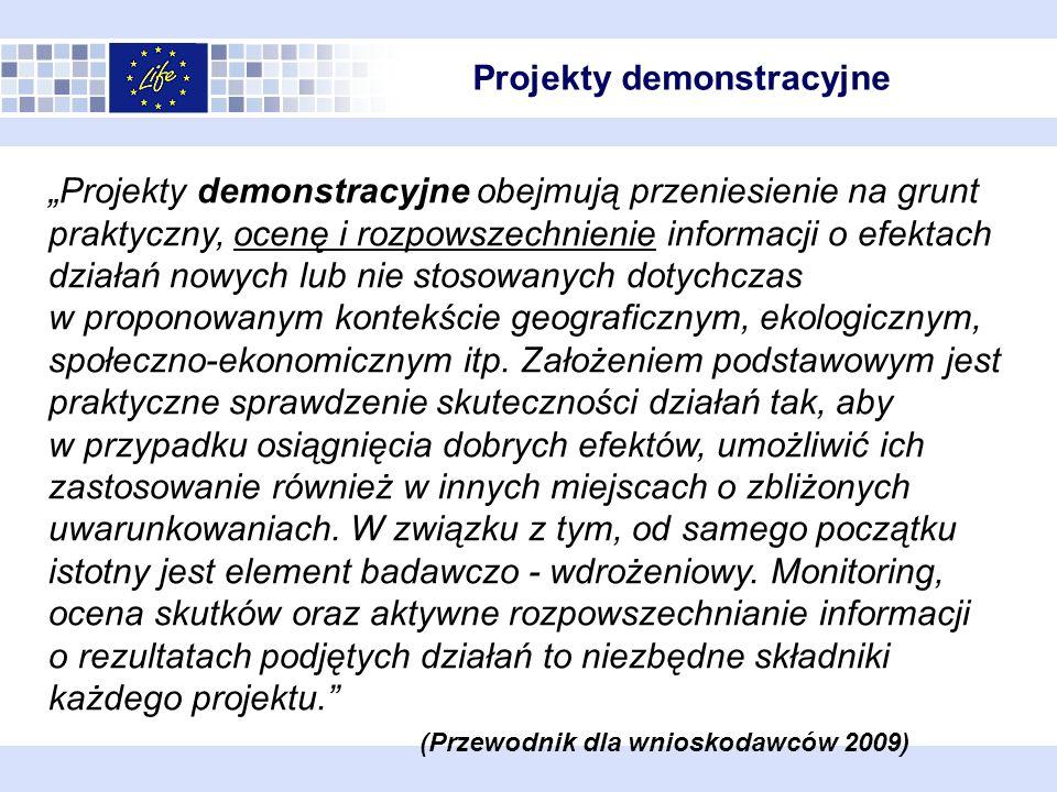 Projekty demonstracyjne