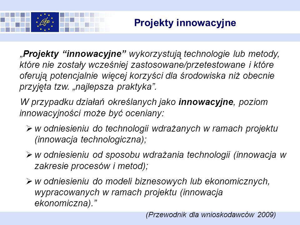 Projekty innowacyjne