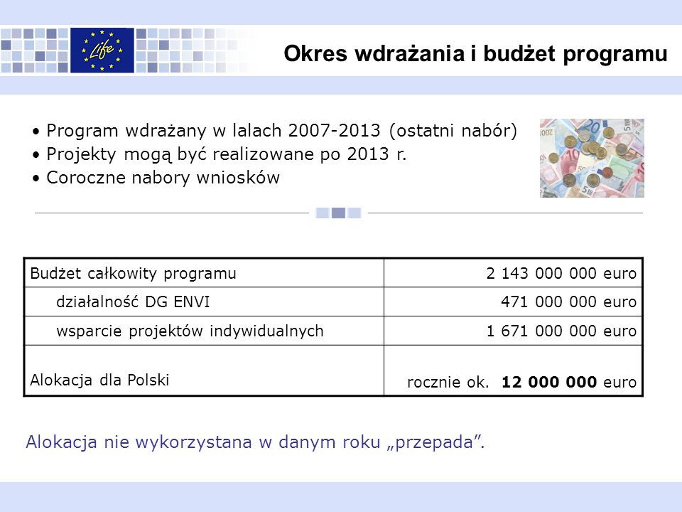 Okres wdrażania i budżet programu