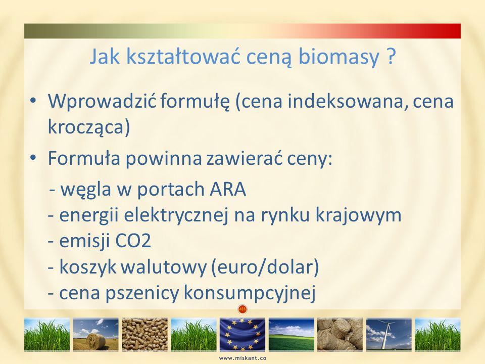 Jak kształtować ceną biomasy