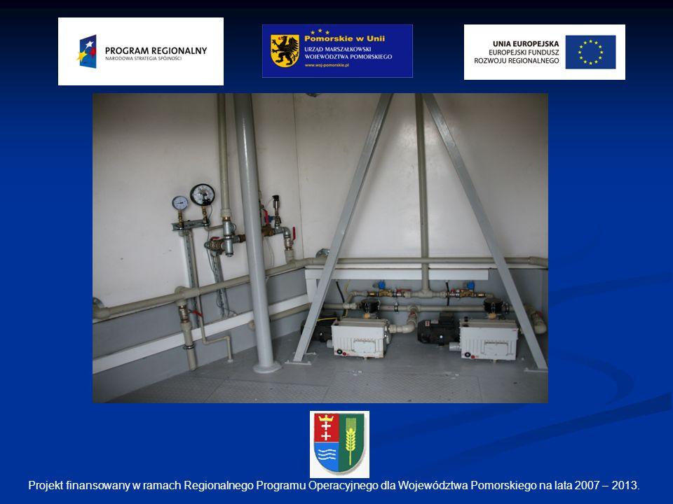 Projekt finansowany w ramach Regionalnego Programu Operacyjnego dla Województwa Pomorskiego na lata 2007 – 2013.