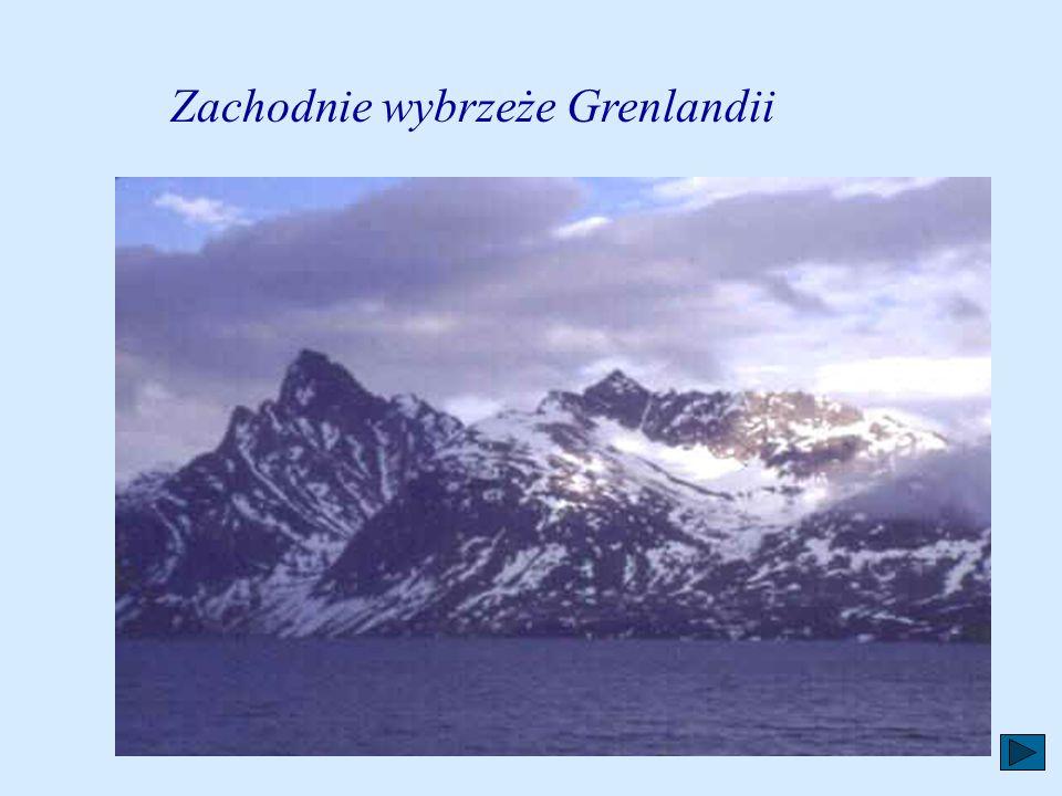 Zachodnie wybrzeże Grenlandii