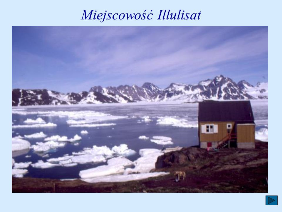 Miejscowość Illulisat