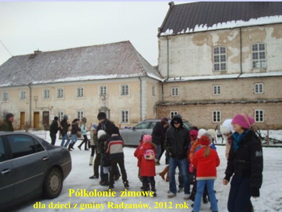 dla dzieci z gminy Radzanów, 2012 rok