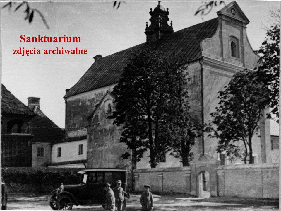 Sanktuarium zdjęcia archiwalne