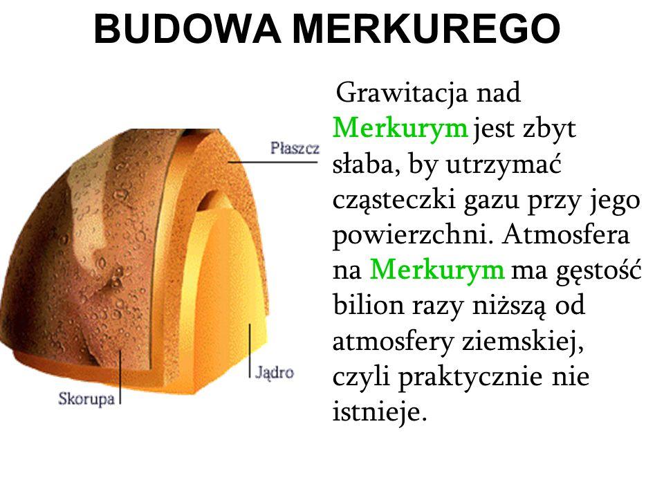 BUDOWA MERKUREGO