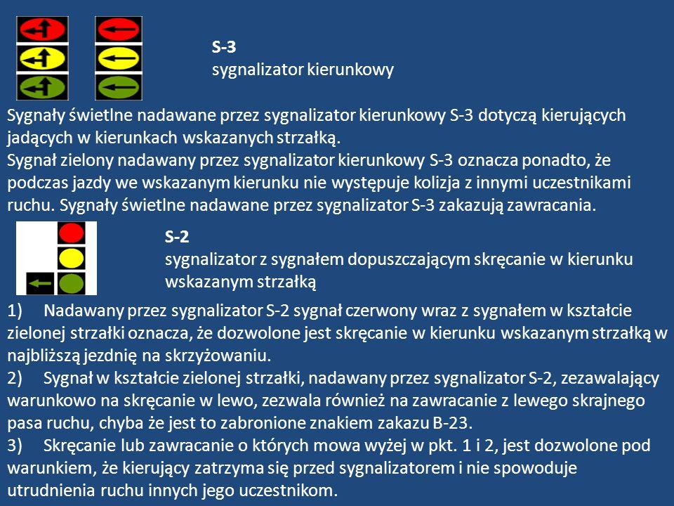 S-3 sygnalizator kierunkowy