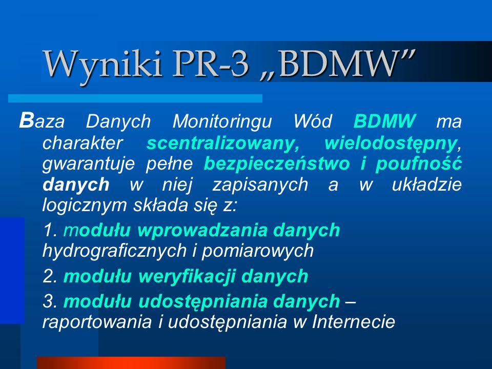"""Wyniki PR-3 """"BDMW"""