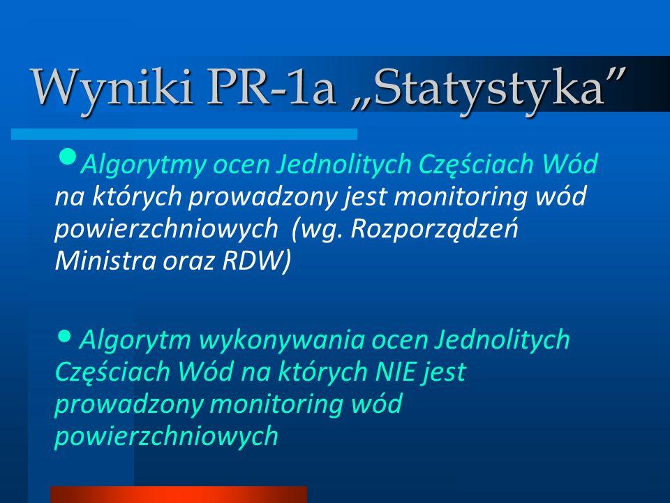 """Wyniki PR-1a """"Statystyka"""