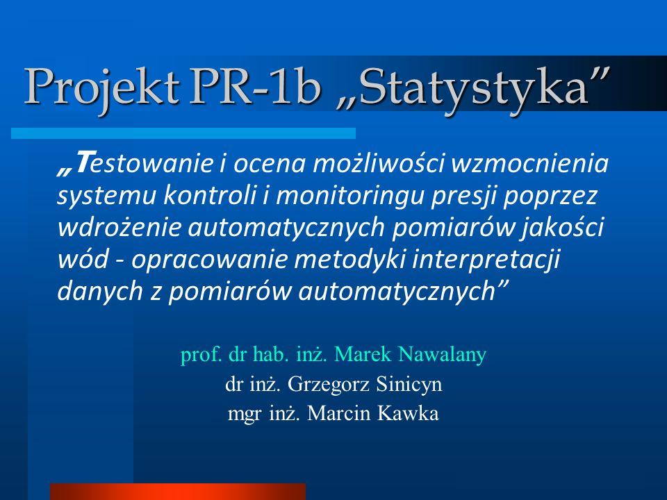 "Projekt PR-1b ""Statystyka"