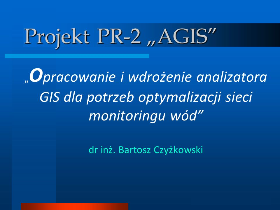 dr inż. Bartosz Czyżkowski