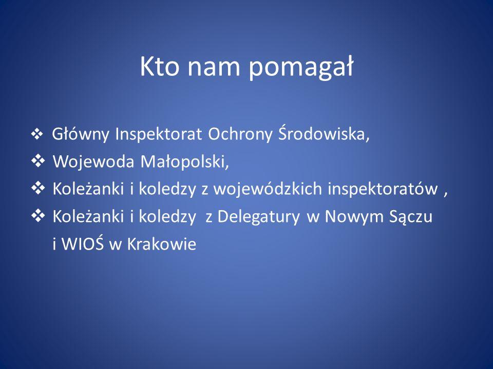 Kto nam pomagał Wojewoda Małopolski,