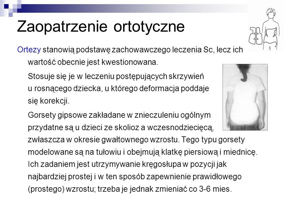 Zaopatrzenie ortotyczne