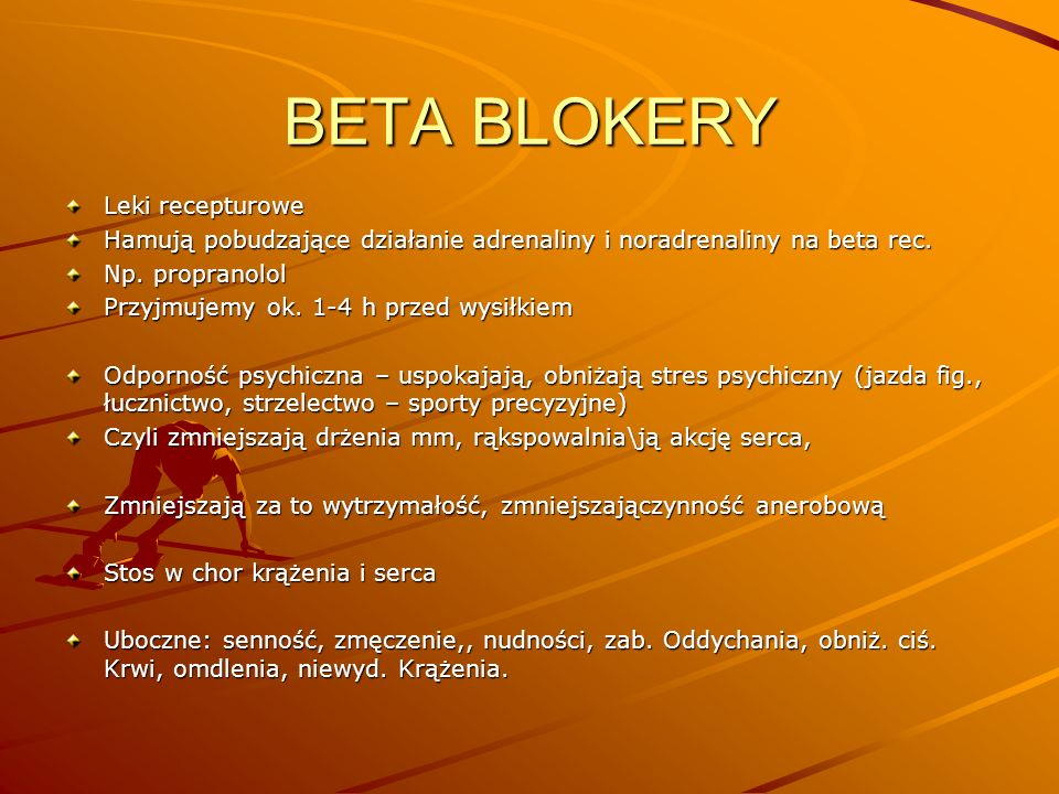BETA BLOKERY Leki recepturowe