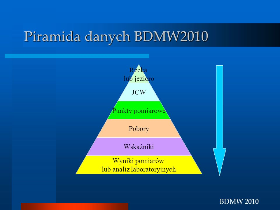 Piramida danych BDMW2010