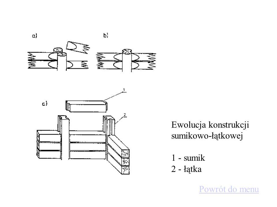 Ewolucja konstrukcji sumikowo-łątkowej