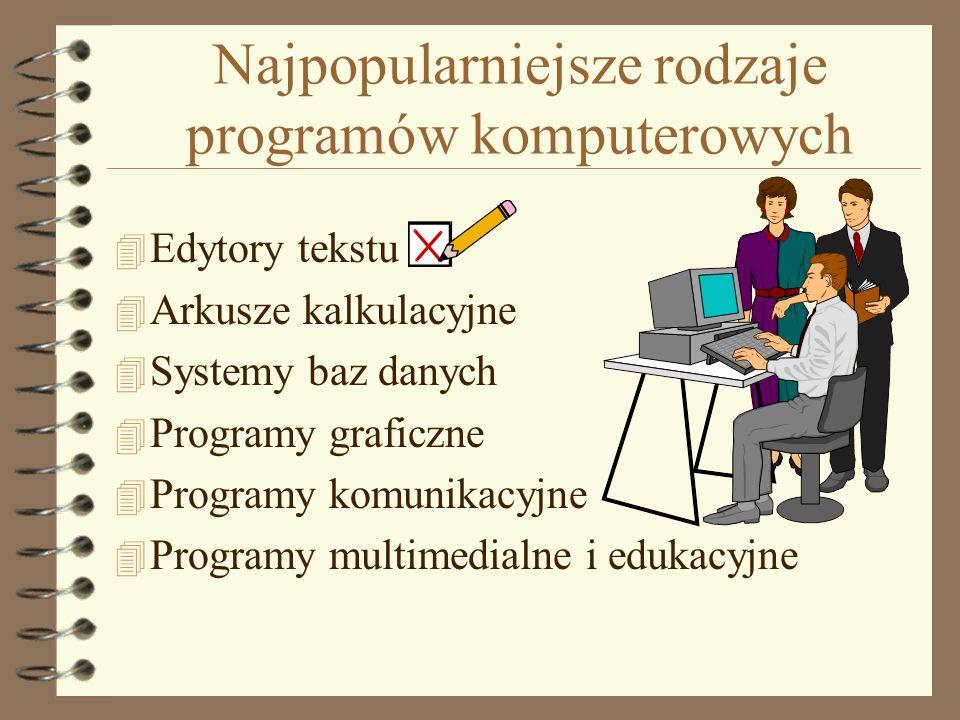 Najpopularniejsze rodzaje programów komputerowych