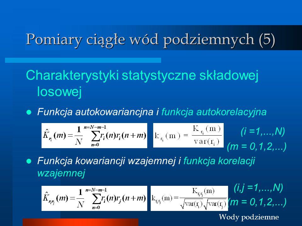Pomiary ciągłe wód podziemnych (5)