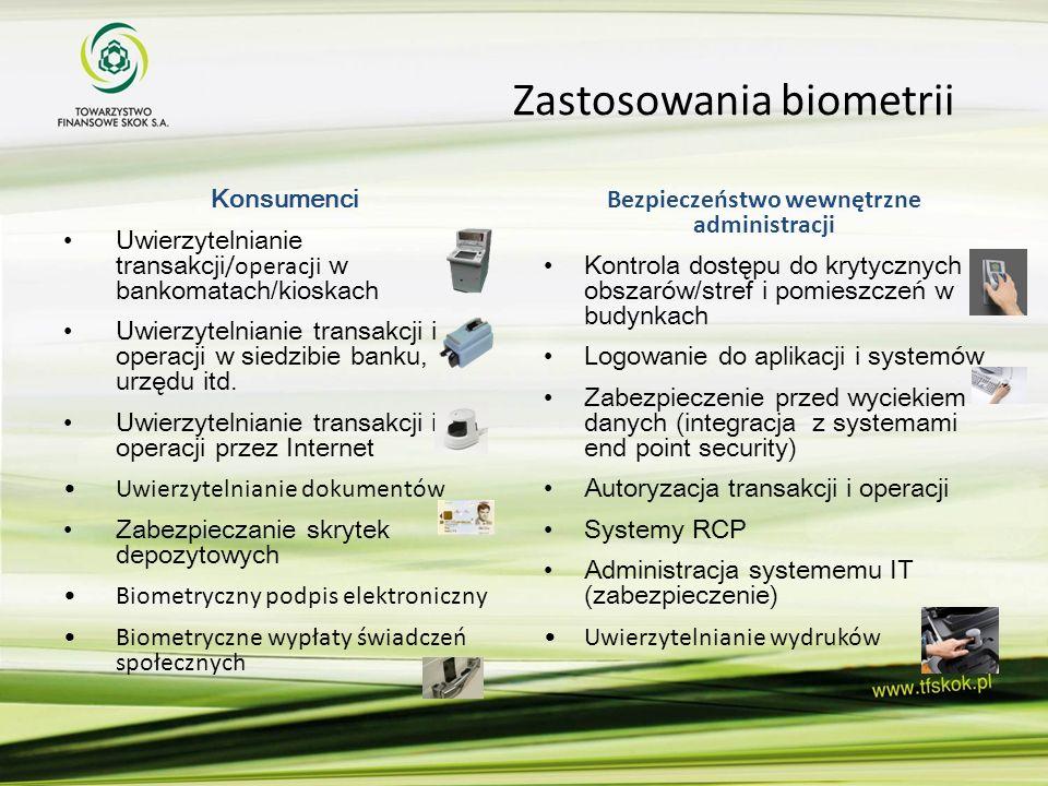 Zastosowania biometrii