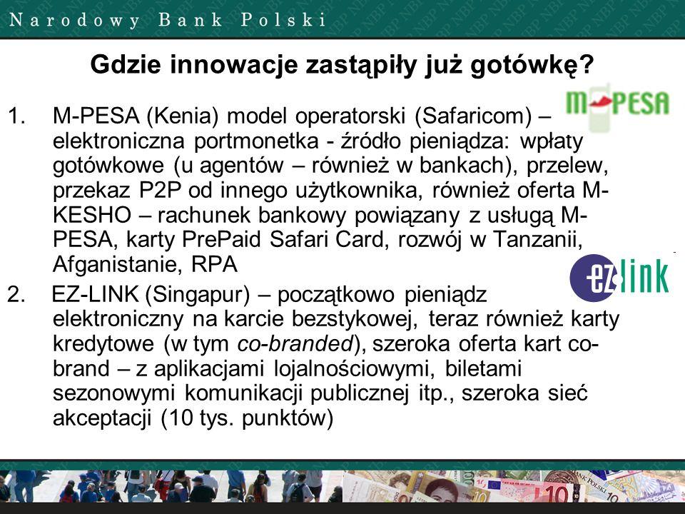 Gdzie innowacje zastąpiły już gotówkę