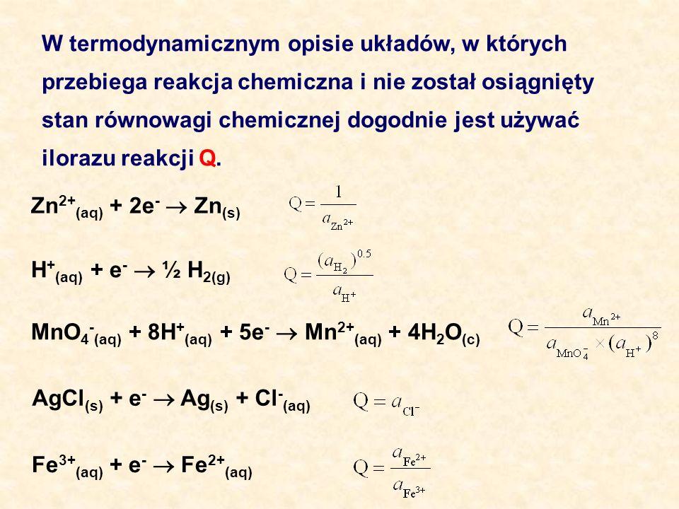 W termodynamicznym opisie układów, w których