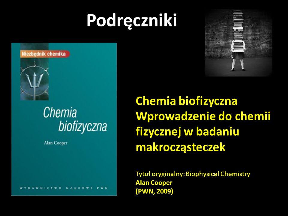 Podręczniki Chemia biofizyczna
