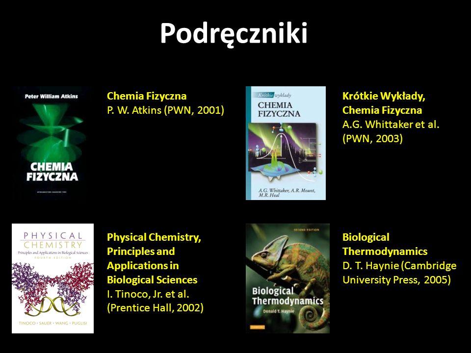 Podręczniki Chemia Fizyczna P. W. Atkins (PWN, 2001)