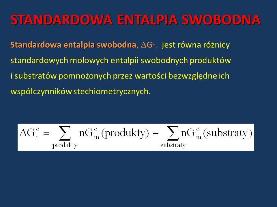 STANDARDOWA ENTALPIA SWOBODNA