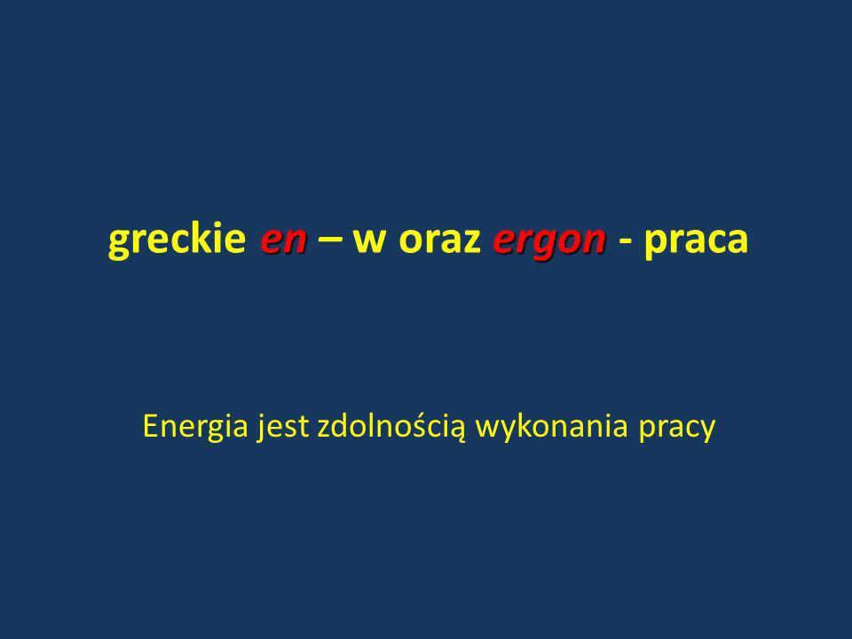 greckie en – w oraz ergon - praca