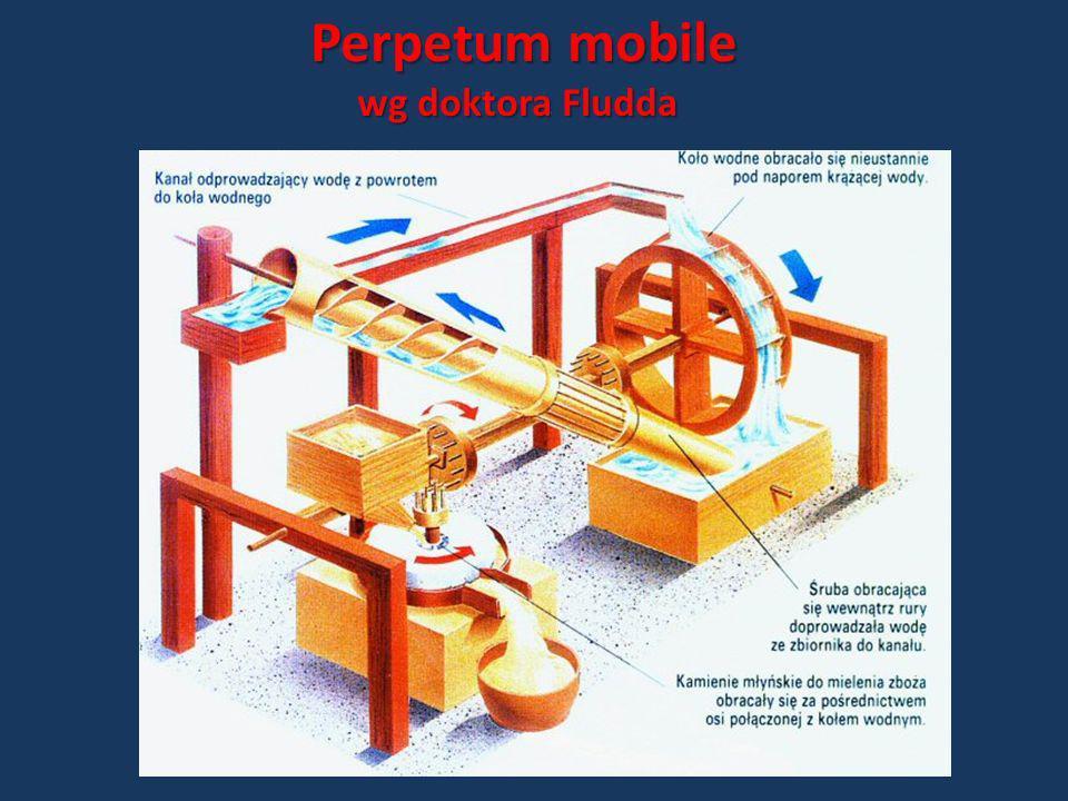 Perpetum mobile wg doktora Fludda