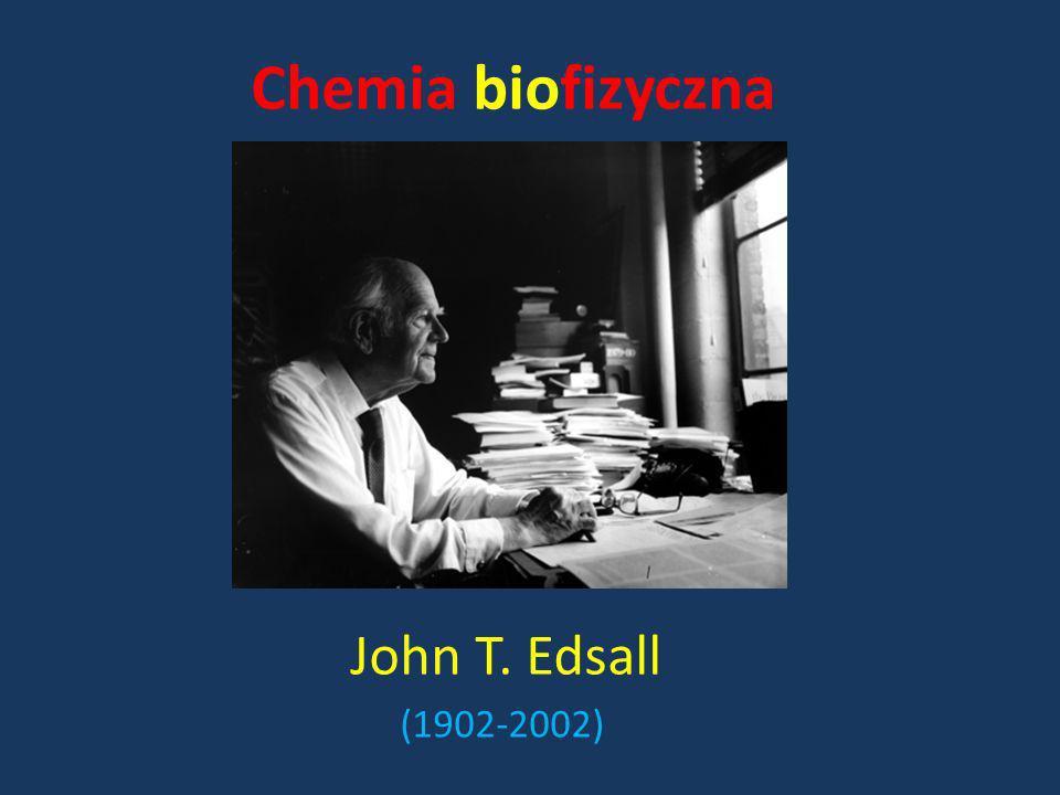 Chemia biofizyczna John T. Edsall (1902-2002)