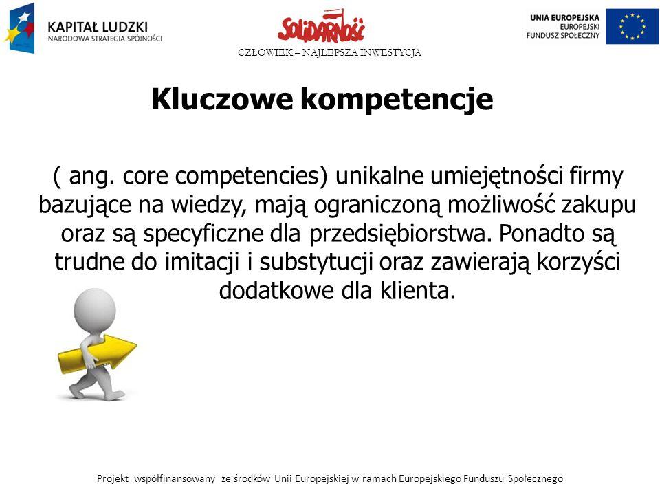 Kluczowe kompetencje
