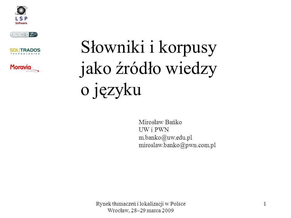 Rynek tłumaczeń i lokalizacji w Polsce