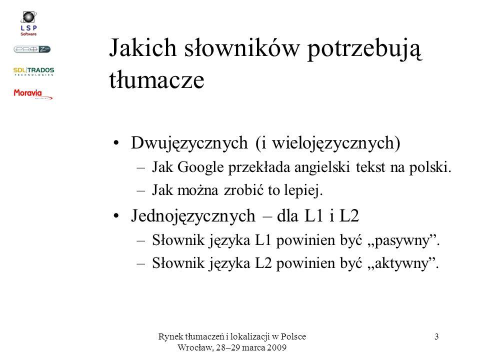 Jakich słowników potrzebują tłumacze